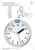 Messaufträge zum Ablesen und Darstellen der Uhrzeit auf einer Zeigeruhr Preview 2
