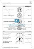 Messaufträge zum Ablesen und Darstellen der Uhrzeit auf einer Zeigeruhr Preview 8