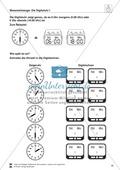 Mathematik, Größen & Messen, Messen, Ablesen, Zeit, Größeneinheiten, Zeiteinheiten