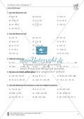 Lineare Gleichungen: Aufgaben zum Auflösen einer Klammer Preview 2