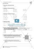 Lineare Gleichungen: Übungen zu den binomischen Formeln Preview 5