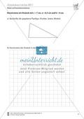 Konstruktionsangaben zu verschiedenen Dreiecken mit Seitenangaben Preview 1