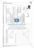 Konstruktionsangaben zu verschiedenen Dreiecken mit Seitenangaben Preview 3