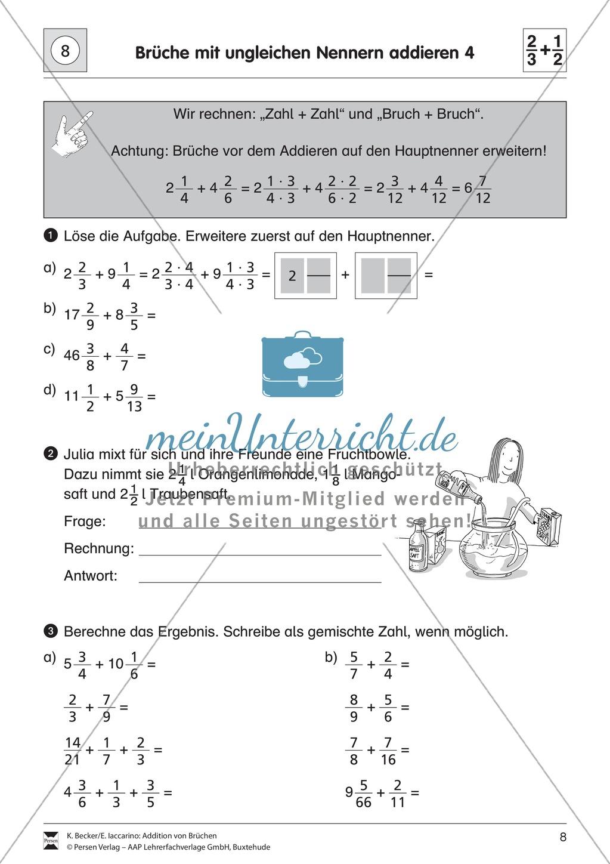 Groß Gemischte Zahl Arbeitsblatt Fotos - Super Lehrer Arbeitsblätter ...