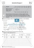 Bruchrechnung: Vermischte Aufgaben zur Addition von Brüchen Preview 3