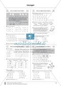 Bruchrechnung: Vermischte Aufgaben zur Addition von Brüchen Preview 5