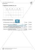 Mathematik, Zahlen & Operationen, Grundrechenarten, Arithmetik, schriftliches Rechnen, Multiplikation, schriftliche multiplikation