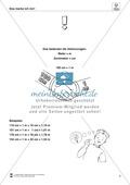 Längeneinheiten Meter und Zentimeter- Wege messen und vergleichen Preview 2