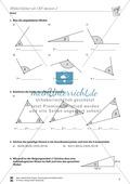 Winkel: Winkel mit Hilfe des Geodreiecks berechnen Preview 2