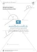 Winkel: Winkel mit Hilfe des Geodreiecks berechnen Preview 4