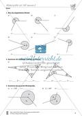 Winkel: Winkel mit Hilfe des Geodreiecks berechnen Preview 5