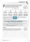 Förderschule Stochastik - Übungen zur Kombinatorik Preview 10