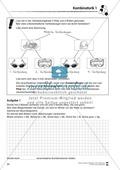 Förderschule Stochastik - Übungen zur Kombinatorik Preview 1