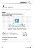 Förderschule Stochastik - Übungen zur Kombinatorik Preview 3
