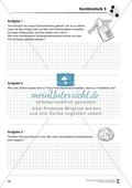 Förderschule Stochastik - Übungen zur Kombinatorik Preview 5