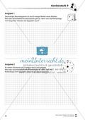 Förderschule Stochastik - Übungen zur Kombinatorik Preview 9