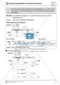 Mathematik, Zahlen & Operationen, Größen & Messen, funktionaler Zusammenhang, Arithmetik, Prozentrechnung, Dreisatz, Algebra