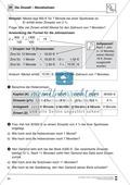 Mathematik, funktionaler Zusammenhang, Zahlen & Operationen, Dreisatz, Algebra, zinsrechnung, sachrechnen, zinssatz