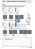 Kopiervorlagen mit praktischen Aufgaben zur Addition Preview 1