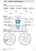 Kopiervorlagen mit praktischen Aufgaben zur Addition Preview 4