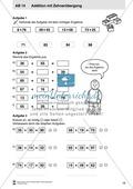 Kopiervorlagen mit praktischen Aufgaben zur Addition Preview 8