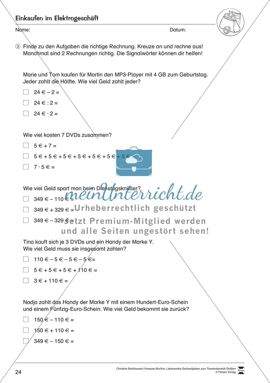 Fantastisch Metrische Maßeinheiten Arbeitsblatt Galerie - Super ...