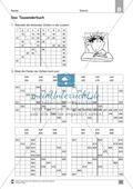 Übungen für den Zahlenraum bis 1000: Arbeitsblätter Thumbnail 9