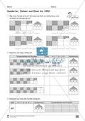 Übungen für den Zahlenraum bis 1000: Arbeitsblätter Thumbnail 13