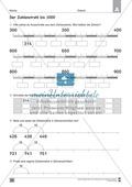 Übungen für den Zahlenraum bis 1000: Arbeitsblätter Thumbnail 16