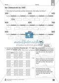 Übungen für den Zahlenraum bis 1000: Arbeitsblätter Thumbnail 17