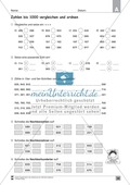 Übungen für den Zahlenraum bis 1000: Arbeitsblätter Thumbnail 21