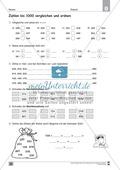 Übungen für den Zahlenraum bis 1000: Arbeitsblätter Thumbnail 22