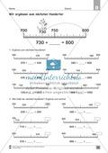 Übungen für den Zahlenraum bis 1000: Arbeitsblätter Thumbnail 27