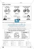 Übungen für den Zahlenraum bis 1000: Arbeitsblätter Thumbnail 30
