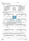 Übungen für den Zahlenraum bis 1000: Arbeitsblätter Thumbnail 32