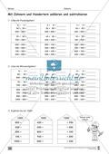 Übungen für den Zahlenraum bis 1000: Arbeitsblätter Thumbnail 36