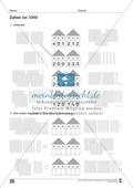 Übungen für den Zahlenraum bis 1000: Arbeitsblätter Thumbnail 2
