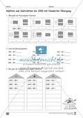 Übungen für den Zahlenraum bis 1000: Arbeitsblätter Thumbnail 44