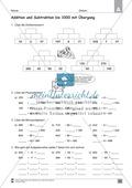 Übungen für den Zahlenraum bis 1000: Arbeitsblätter Thumbnail 45