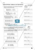 Übungen für den Zahlenraum bis 1000: Arbeitsblätter Thumbnail 51