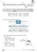 Übungen für den Zahlenraum bis 1000: Arbeitsblätter Thumbnail 56