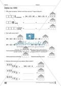 Übungen für den Zahlenraum bis 1000: Arbeitsblätter Thumbnail 4