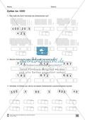 Übungen für den Zahlenraum bis 1000: Arbeitsblätter Thumbnail 5