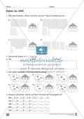 Übungen für den Zahlenraum bis 1000: Arbeitsblätter Thumbnail 6