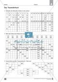 Übungen für den Zahlenraum bis 1000: Arbeitsblätter Thumbnail 8
