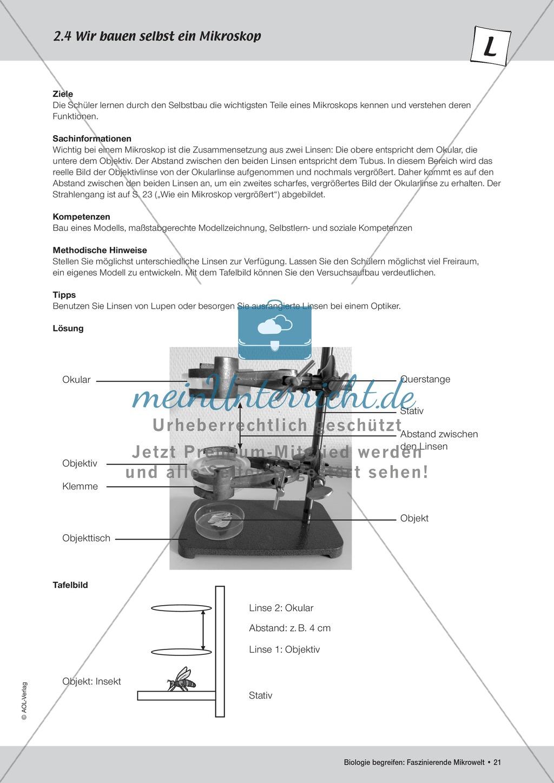 Ein Mikroskop selbst bauen Preview 1