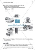Arbeitsblätter zum Thema gesunde Mahlzeiten Thumbnail 1