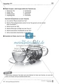 Arbeitsblätter zum Thema Zuckergehalt in Getränken Preview 3