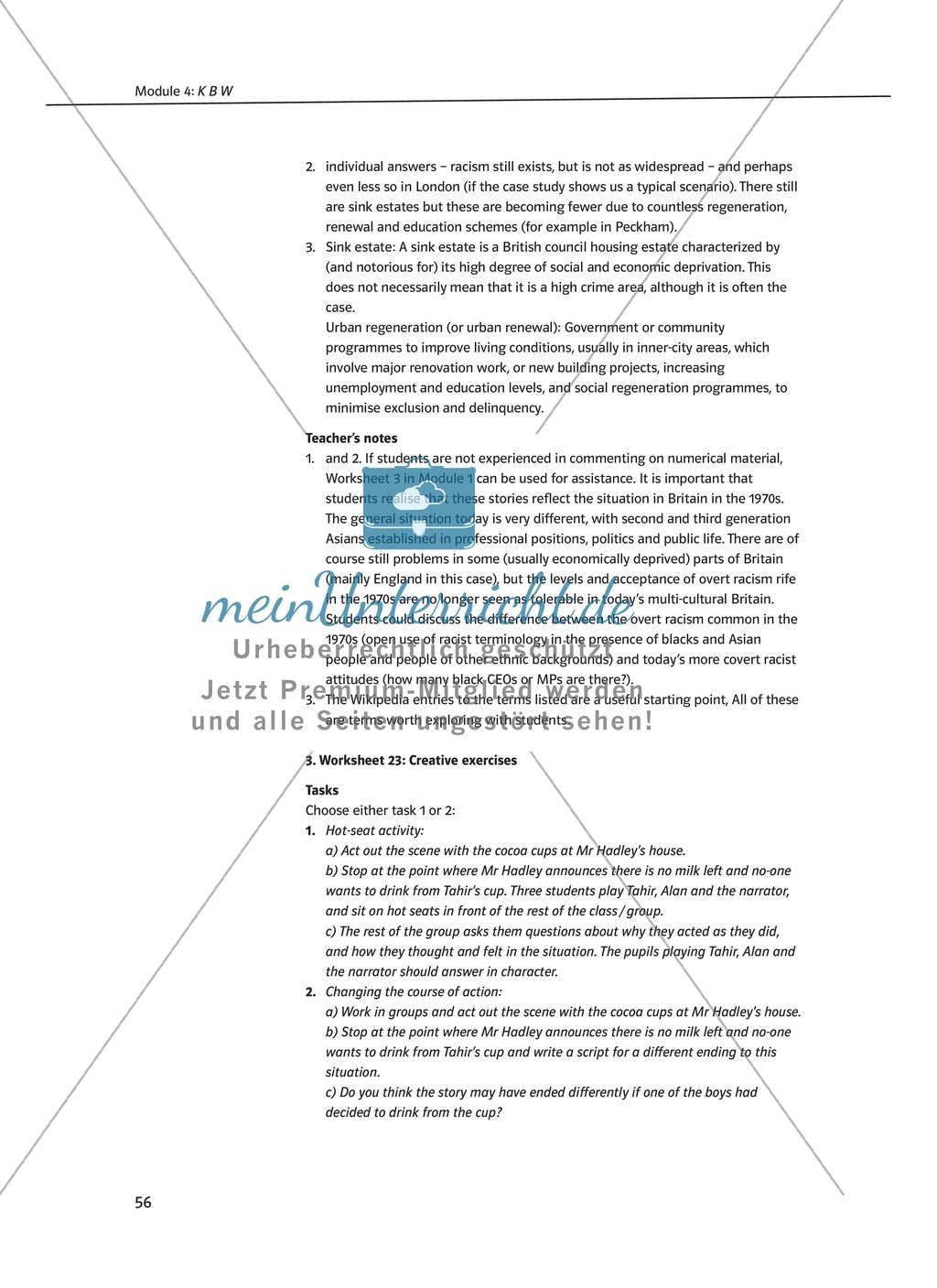 KBW: Zusammenfassung + Aufgaben + Arbeitsblätter Preview 11