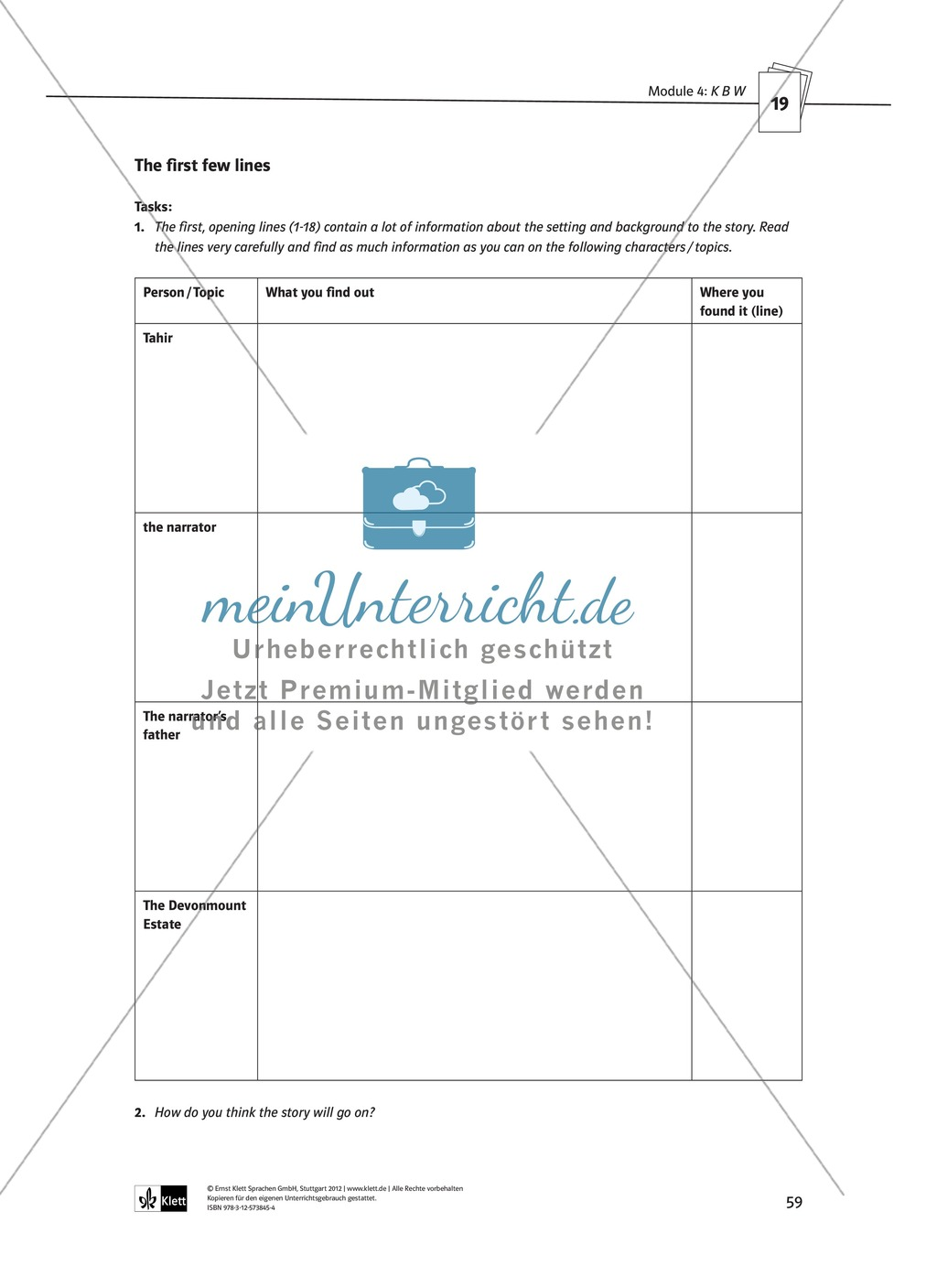 KBW: Zusammenfassung + Aufgaben + Arbeitsblätter Preview 14